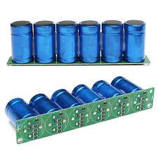 6pcs/set New Farad Capacitance 2.7V 500F Super Capacitor with Protection Board