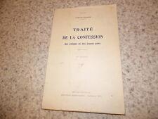1930.Traité de la confession des enfants.Timon David