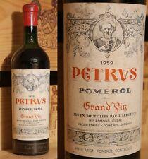 1959er Petrus -  Pomerol - Top Jahrgang  -  Top Rarität !!!!!