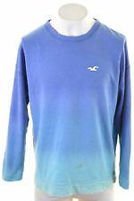 HOLLISTER Mens Sweatshirt Jumper Large Blue Cotton  FU14