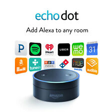 Brand New AMAZON ECHO DOT Black 2nd Gen Bluetooth Speaker