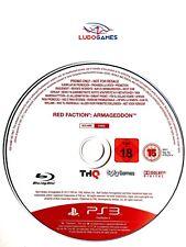 Red Faction Armageddon Promo PAL/EUR PS3 Playstation Videojuego Videogame Retro