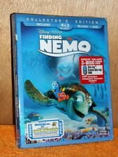 Finding Nemo (Blu-ray/DVD, 2012, 3-Disc Set) Albert Brooks Ellen DeGeneres
