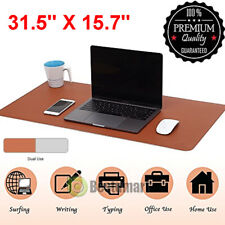 Non Slip Large Soft Gaming Mouse Pad Double Sided Used Keyboard Laptop Desk Mat