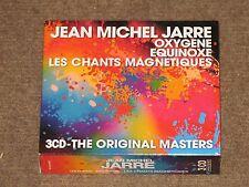 Jean Michel Jarre Oxygene + Equinoxe + Les Chants Magnétiques Box set MINT