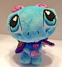 """LPS Littlest Pet Shop VIP Butterfly 2007 w Code Tag Plush Stuffed Animal Toy 9"""""""