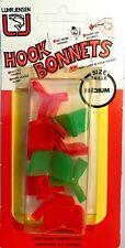 Luhr Jensen Green Orange Medium Hook Bonnets