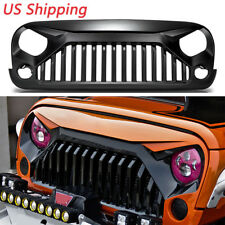 Gladiator Vader Front Grille Grill for Jeep Wrangler Rubicon Sahara Sports 07-18