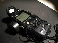 Sekonic L-758DR Digital Spot Light Meter Shutter Angle Speed Cine