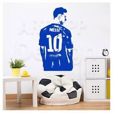 Messi Art Design Kids Room Decor Sport Football Vinyl Wall Stickers Wallpapers