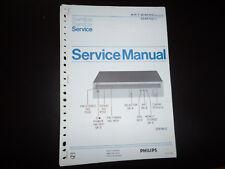 Original Service Manual Philips  22AH103