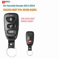 Remote Control Car Key Fob for Hyundai Sonata 2011-2014 OSLOKA-950T 95430-3Q001