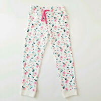 Girl Sweatpants Active Pants Pull On Size 7 OshKosh Floral Stretchy Warm