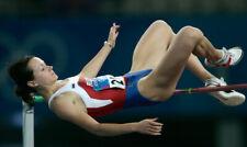 RARE Nike Womens Leotard Olympics Lycra Leotard High Leg Swimwear Size 34