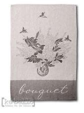 Küchenhandtuch Bouquet grau Clayre & Eef Shabby chic Trockentuch Geschirrtuch