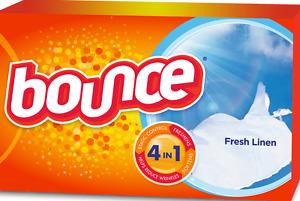 Bounce Dryer Sheets Fresh Linen 40 Count