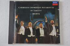 Carreras Domingo Pavarotti in concert Mehta DECCA 1990 Box46