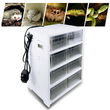 8 Grid Reptile Clear Acrylic Breeding Box Insect Spiders Lizard Cage Tank 150cm