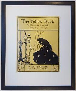 Aubrey Beardsley COVER OF THE YELLOW BOOK vol.III OCTOBER 1894 Framed Print