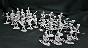 AIRFIX 1970'S VINTAGE 1/32 WATERLOO FRENCH OLD GUARD 29 FIGURES FULL SET Z11.