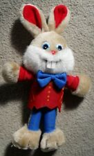 """Easter Bunny Plush Doll Red Tulip Chocolates  Large Soft Toy 30cm 11"""" Tall"""