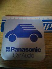 ADESIVO VINTAGE STICKER PANASONIC CAR AUDIO