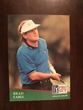 1991 Pro Set #131 - Brad Fabel (RC) - Golf