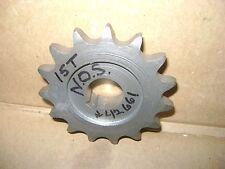 NOS Indian 4-Cylinder FRONT SPROCKET 1940 1941 1942 - 15 Tooth - 42661