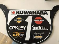 Old School Proto Plate BMX Number plate by NEAL Enterprises - Kuwahara BMX
