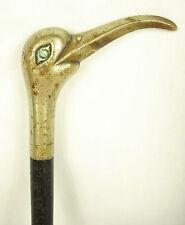 Manche d'ombrelle zoomorphe à tête d'ibis Head Umbrella handle Zoomorphic bird