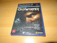 PlayStation 2  Cold Winter  PS2 UK PAL new sealed