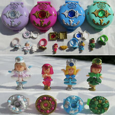 Polly Pocket 4 Princess Ringe Sky Rose Jeweled Palace Forest Ice Kingdom Sea
