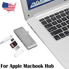 Type-C Hub 5 Ports USB C 3.0 Multi Charging Adapter Card Reader For MacBook Pro