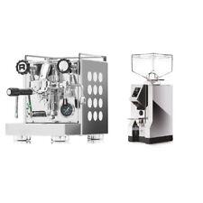 Rocket Espresso Milano APPARTAMENTO weiß + Eureka Mignon Magnifico Chrom