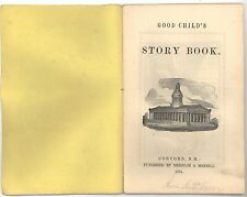 Good Child's Story Book. Merrill's Toys. Concord NH, 1854