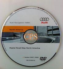 2008 2009 Audi A5 S5 Coupe Quattro MMI Navigation DVD # 884AQ Map Update 07/2008