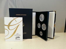 2007 Proof Gold Eagle Box, COA, and Capsules ( No Coins )