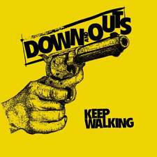 """DOWN AND OUTS - KEEP WALKING 7""""    colour vinyl, melodic street punk"""