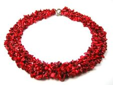 Gorgeous Coral Splitter Chain multiple-row