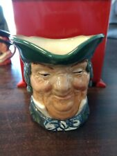 3 inch Royal Doulton Figurine Character Toby Jug Parson Brown