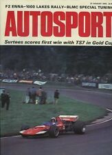 AUTOSPORT AGOSTO 27th 1970 * BLMC SPECIALE Tuning Caratteristica & oulton Park GOLD CUP *