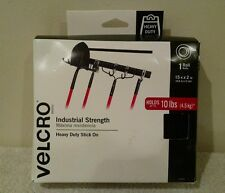 Velcro 90197 15ft. x 2in. Industrial Strength Sticky Tape, Black