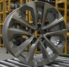 "18"" Honda Accord Sport 2013 2014 2015 Factory OEM Rim Wheel 64048 Light Charcoal"
