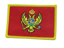 Montenegro Country Flag Wholesale lot of 6 Iron On Patch