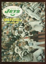 1969 NFL Football New York Jets Yearbook