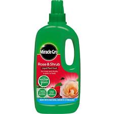 Miracle-Gro Rose & Shrub Concentrated Liquid Plant Flower Food with Humifirst 1L