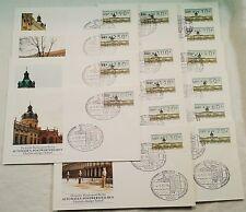 Berlin Automaten-Marken - Versandstellensatz Mi.Nr.1 Komplett 14 Werte 4.5.87