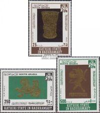 Aden - Kathiri Toestand 220A-222A (compleet Editie) postfris MNH 1968 Goldsmiths