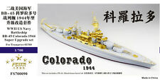 PE 1/700 Battleship BB-45 Colorado 1944 WWII US NAVY (for Trumpeter) FS700090