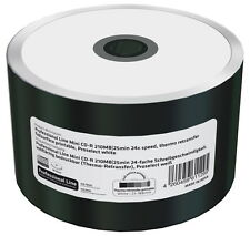 100 Professional Rohlinge CD-R Mini full printable Thermo 22Min 200MB 24x Shrink